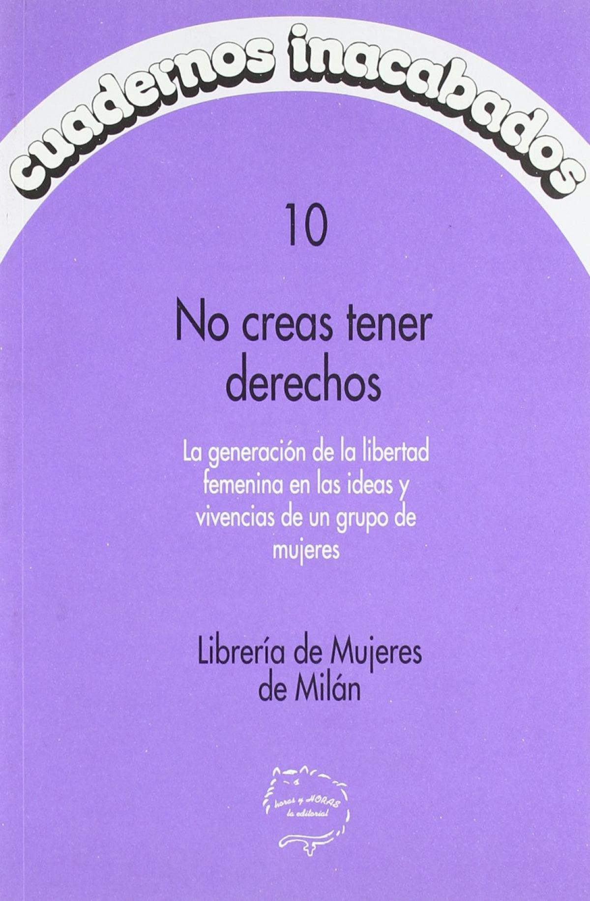 Cuadernos inacabados,10 no creas - Sin Autor
