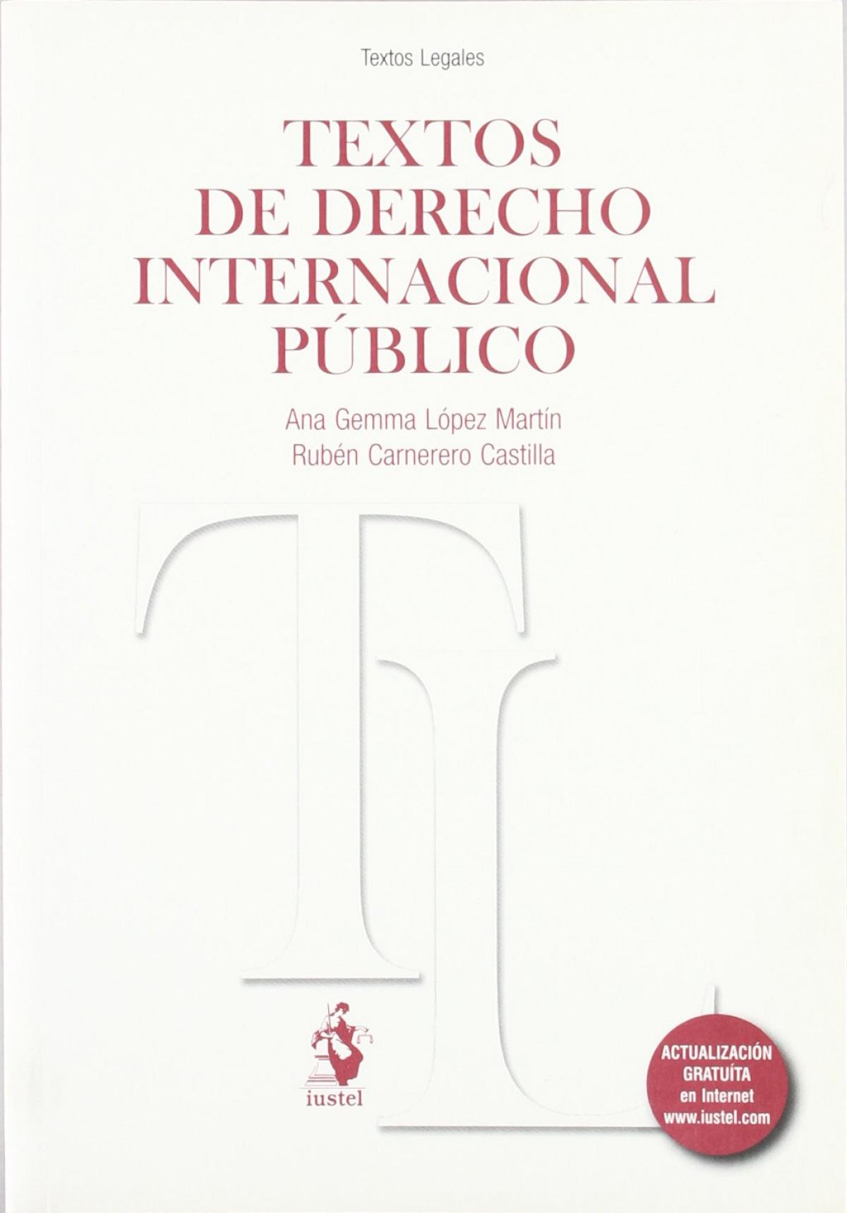 Textos derecho inter publico - Lopez, Ana