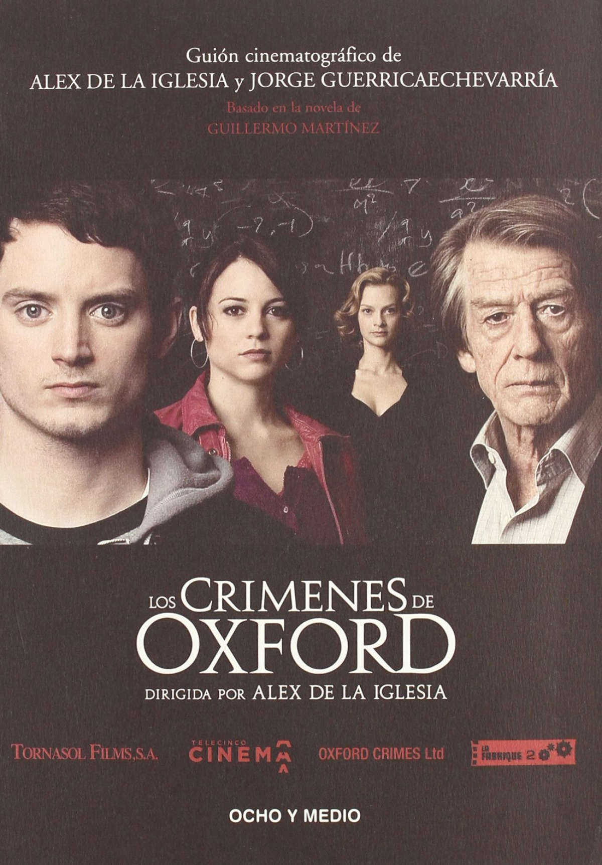 Crimenes de oxford - De La Iglesia, Alvaro