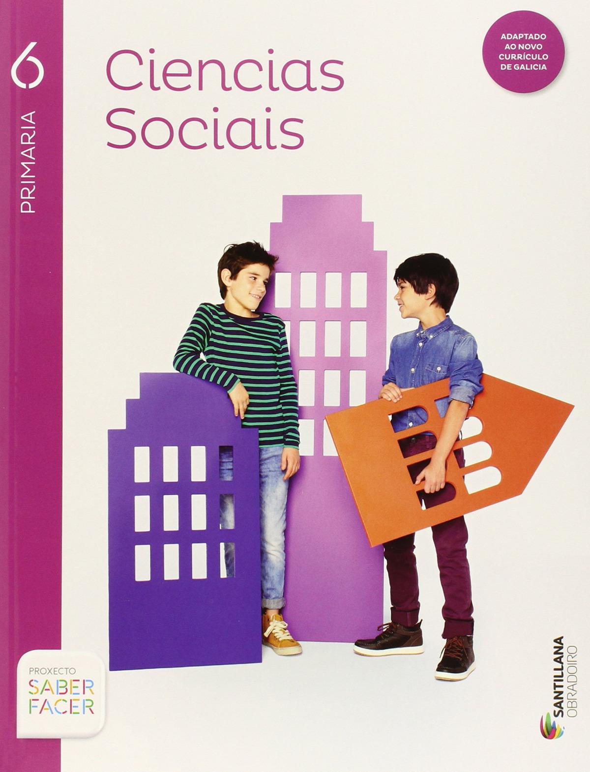 g).(15).ciencias sociais 6º prim.(saber facer) trim+anexo - Vv.Aa