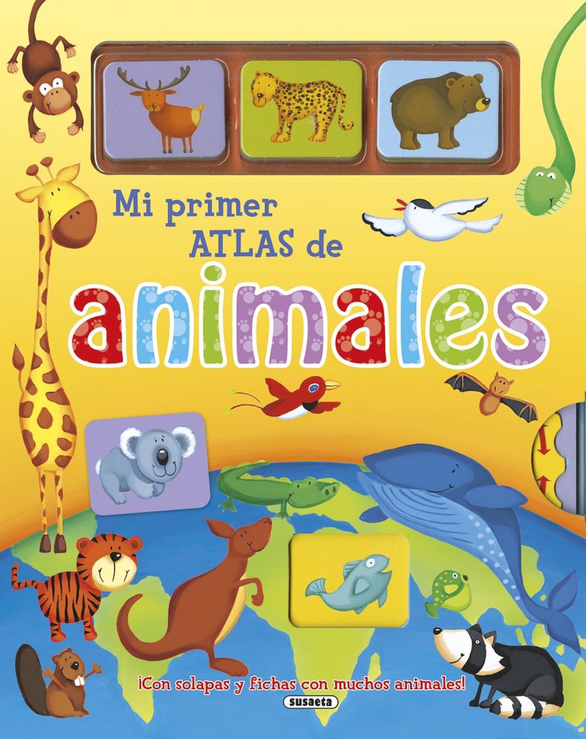 Mi primer atlas de animales - Apsley, Brenda
