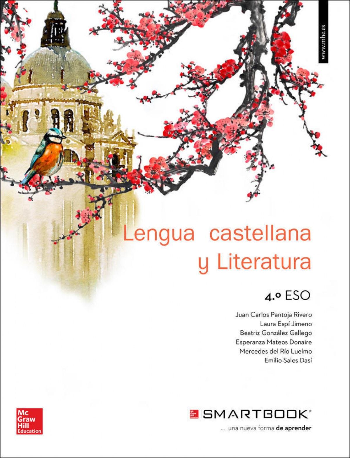lengua literatura 4ºeso +guias lectura + smartbook - Pantoja Rivero, Juan