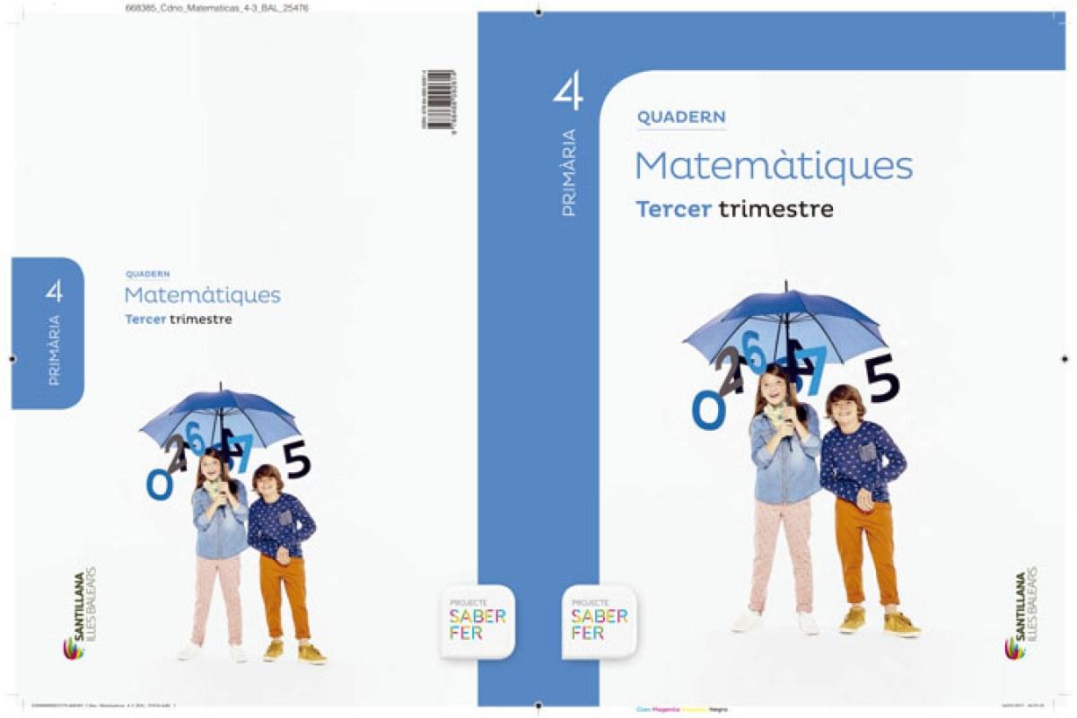 bal).(15).quad.matematiques 3-4t.prim.(saber fer) - Vv.Aa