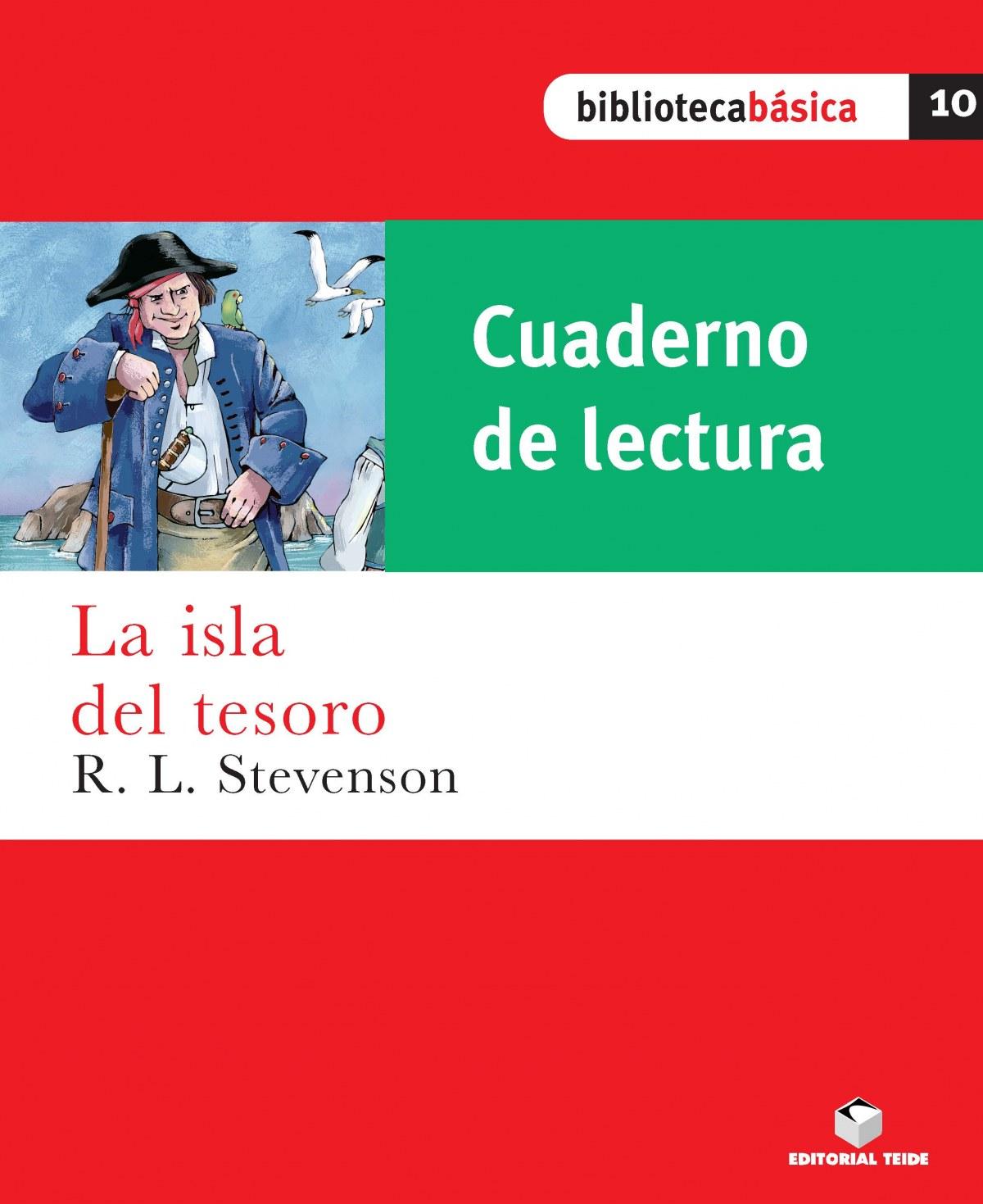Cuaderno lectura isla tesoro - Desconocido