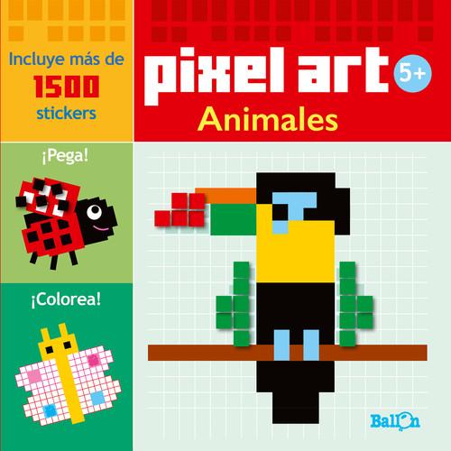 Colorea Animalespixel Art