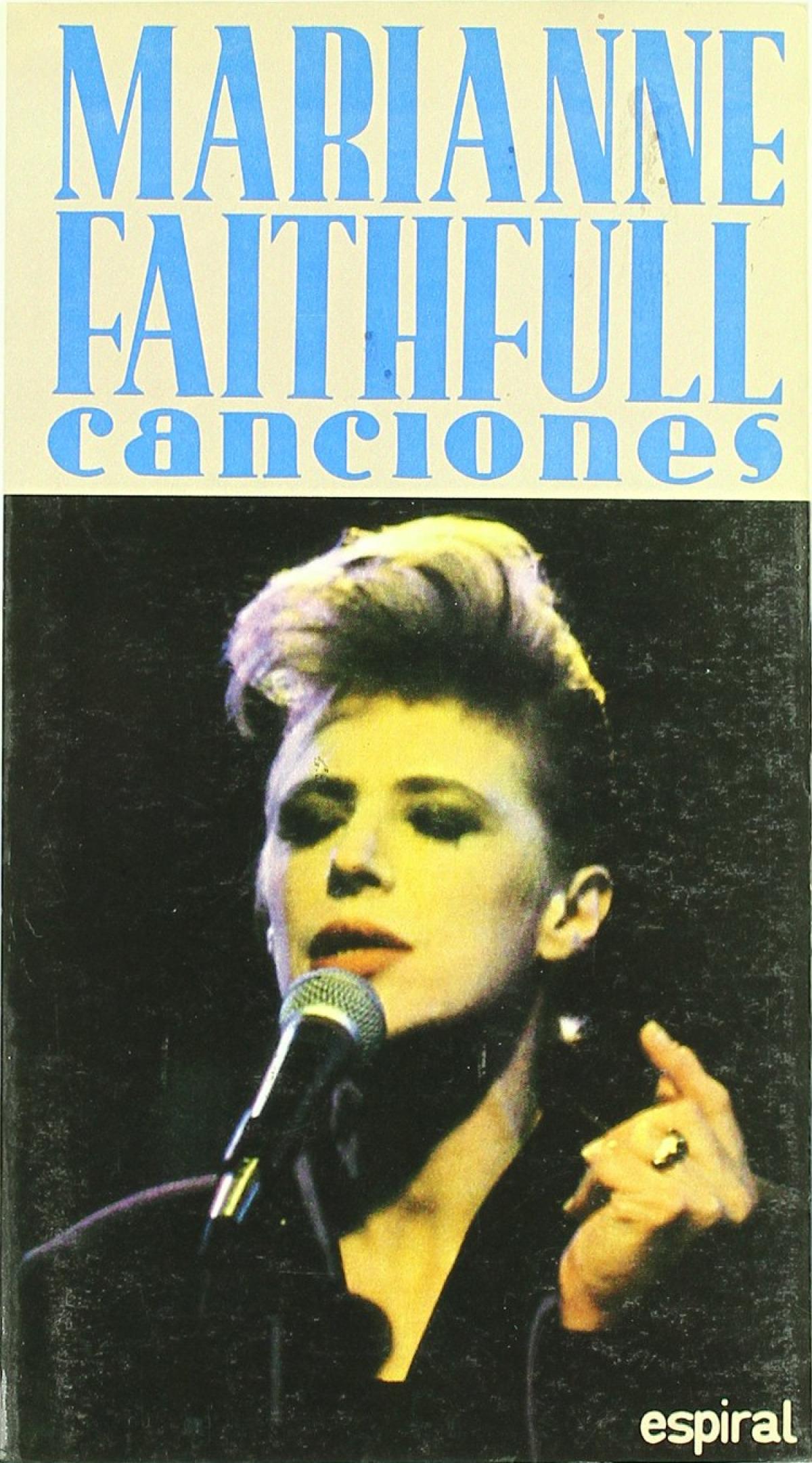 Marianne faithfull canciones - Sin Autor