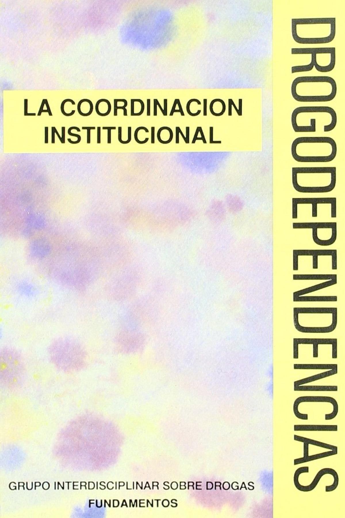 Drogodependencias. coordinacion - Sin Autor