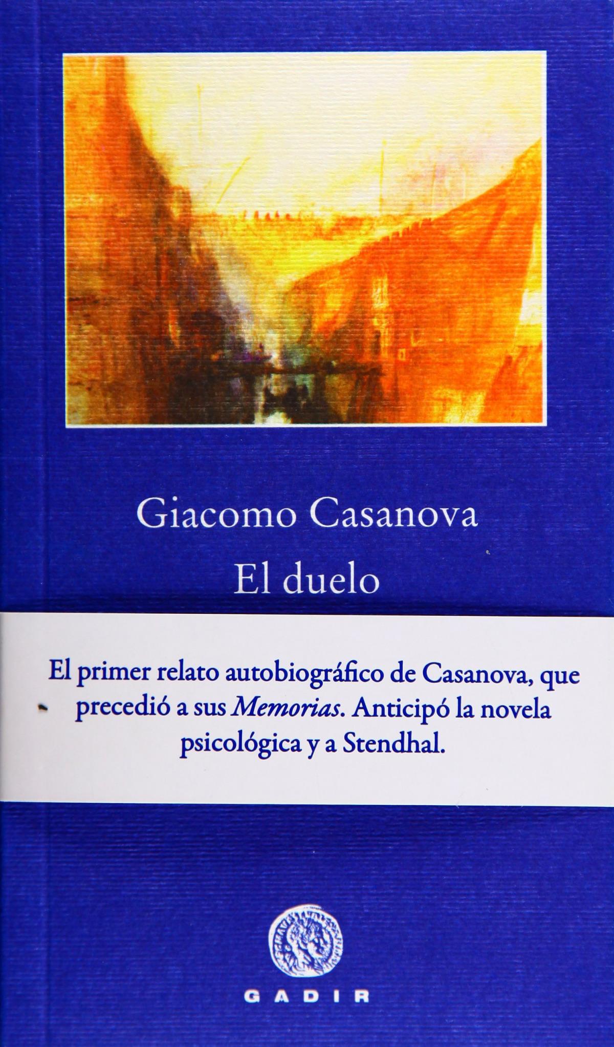 Duelo pbg-9 - Casanova, Giacomo
