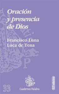 Oración y presencia de Dios - Luna Luca de Tena, Francisco