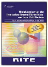 Reglamento instalaciones trmicas edificios.(RITE) RD 1027/2007 DE 20 DE JULIO - Vv.Aa.