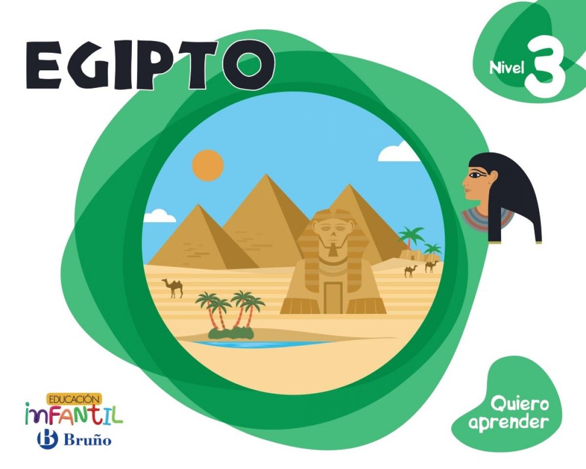 16).quiero aprender 3: egipto.(5 aÑos) - Aa.Vv.