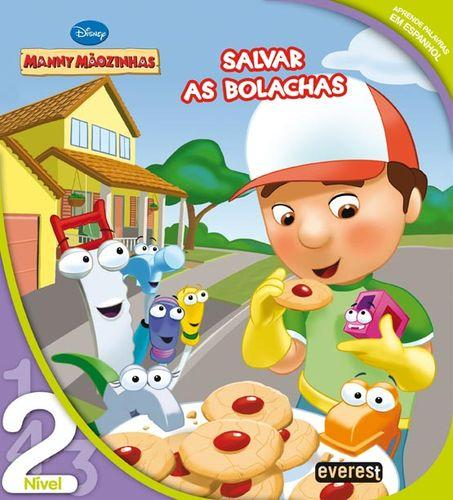 Manny mÃozinhas: salvar as bolachas: leitura nÍvel 2 - Vv.Aa.