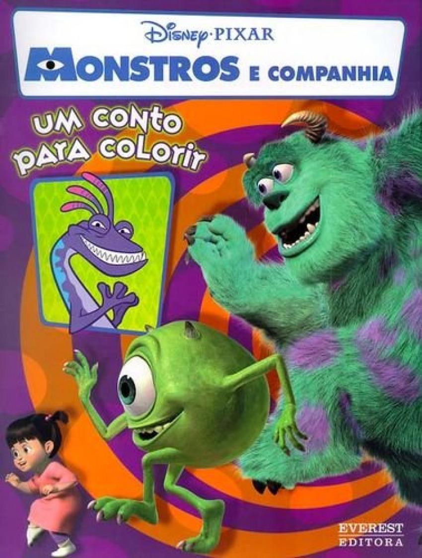 Monstros e companhia: um conto para colorir - Vv.Aa.