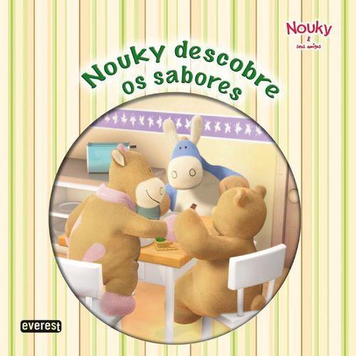 Nouky & seus amigos: nouky descobre os sabores - Vv.Aa.