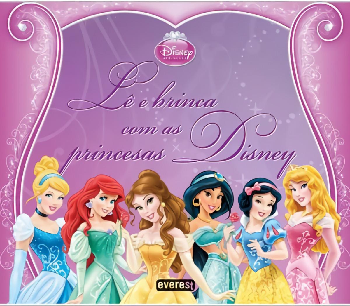 LÊ e brinca com as princesas disney - Vv.Aa.
