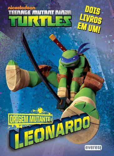 Tartarugas ninja: origem mutante: leonardo/donatelo - Vv.Aa.