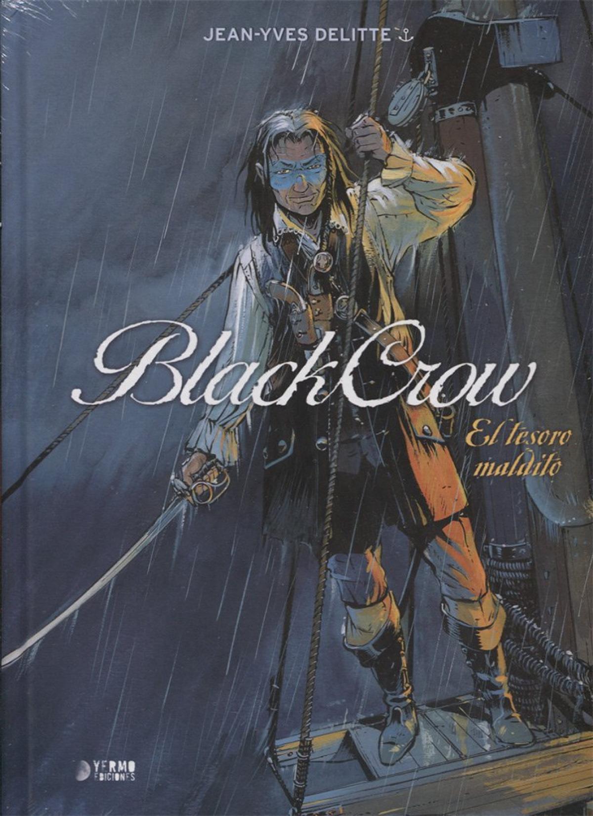 El tesoro maldito blackcrow - Delitte, Jean