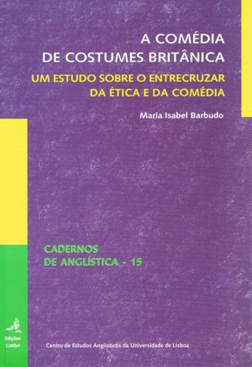 A comÉdia de costumes britÂnica - Isabel Sampaio Barbudo, Maria