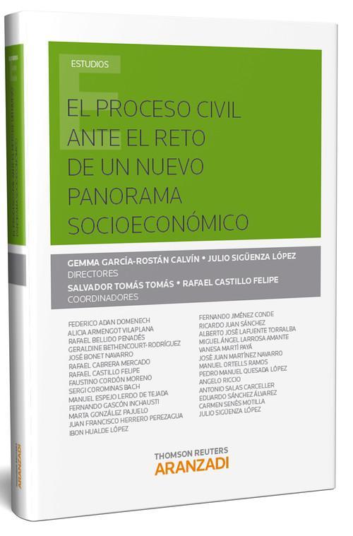 El proceso civil ante el reto de un nuevo panorama socioeconomico - García-Rostán Calvín, Gemma/Sigüenza López, Julio
