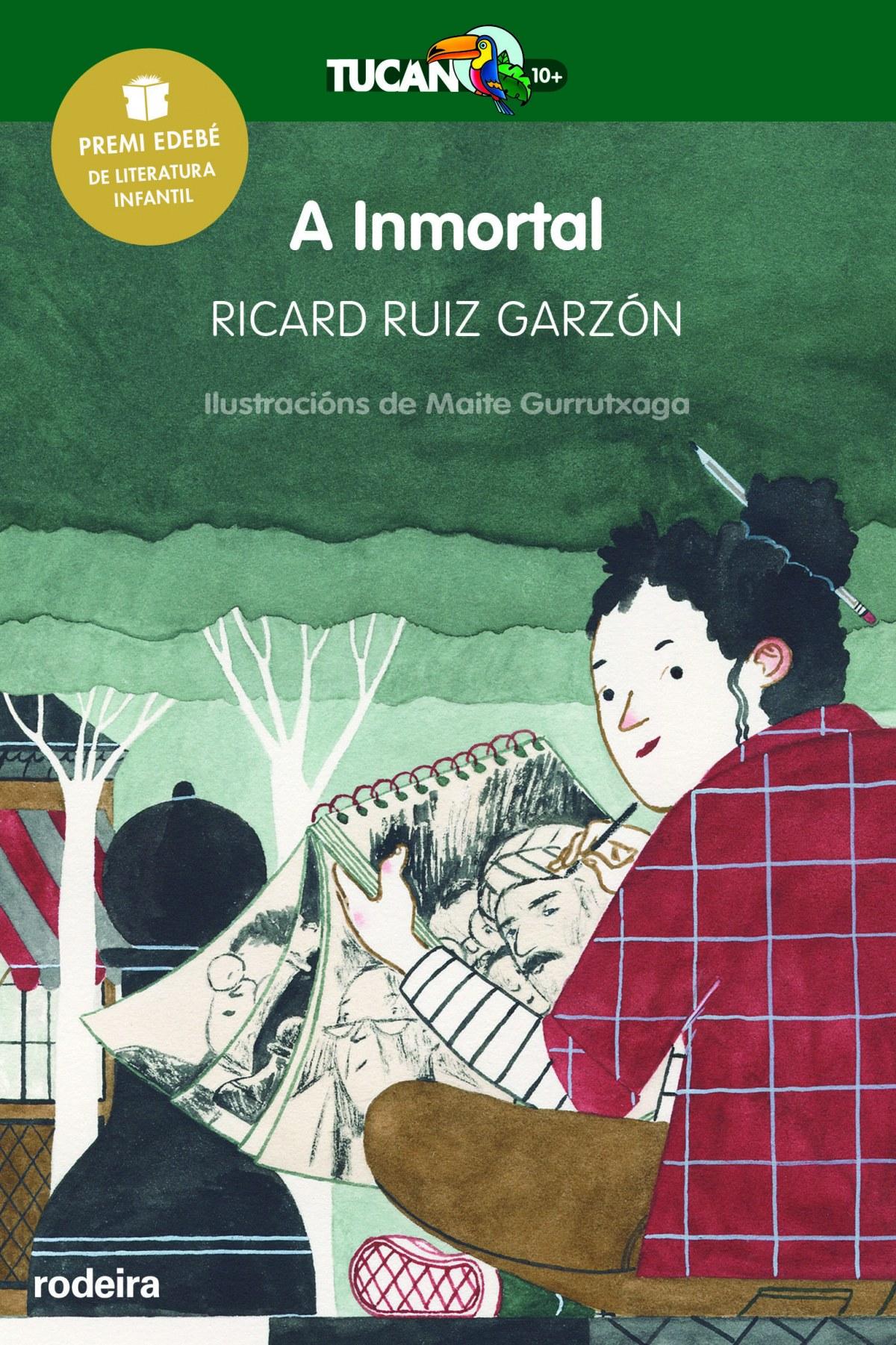 A inmortal Premio Edebé de literatura infantil 2017 - Ruiz Garzón, Ricard