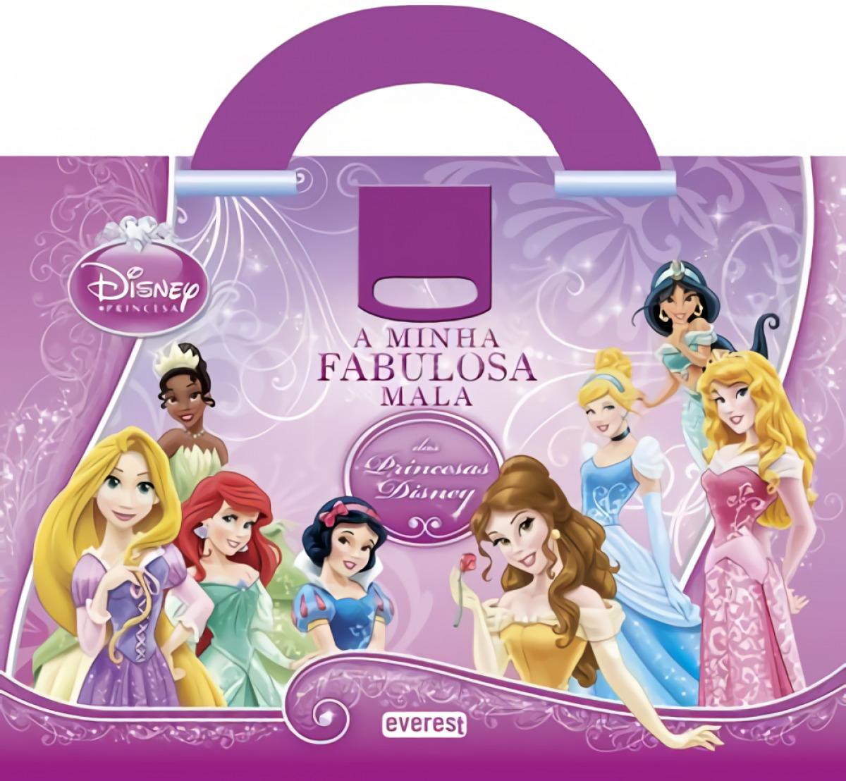 A minha fabulosa mala das princesas disney - Vv.Aa.