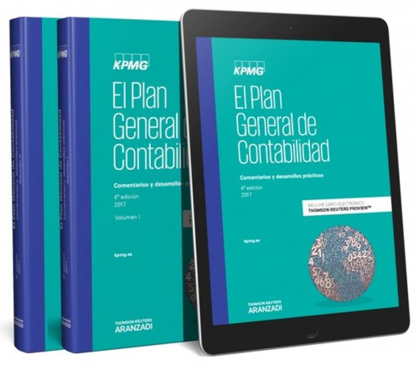 El plan general de contabilidad (volumen i y ii) (kpmg) (papel + e-book) - Herreros Escamilla, Jorge
