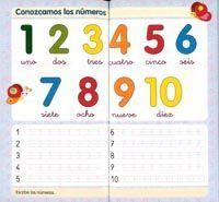Aprendo los numeros y a escribir 1 - T-298-1