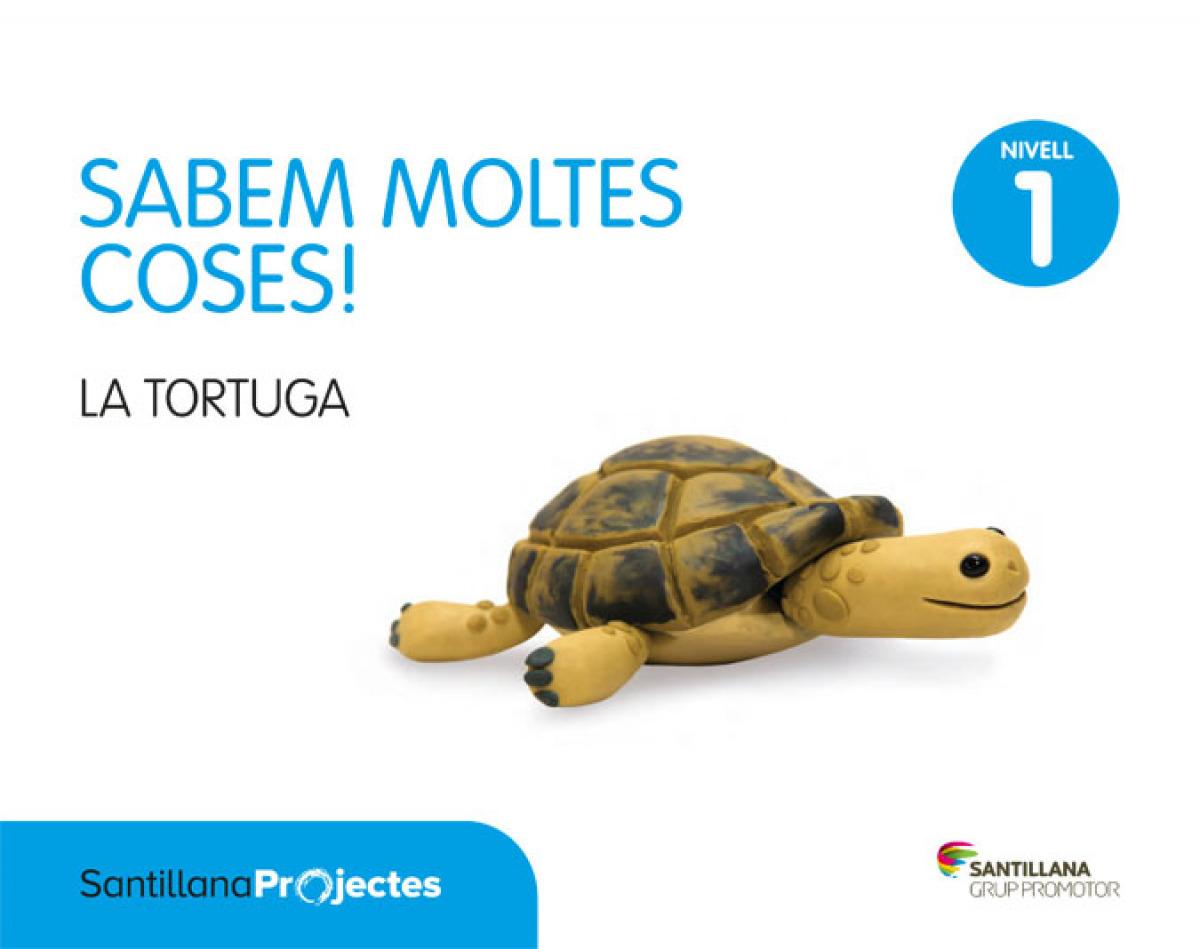 cat).(17).1.sabem moltes: la tortuga (3 anys) ed.infantil - Aa.Vv.
