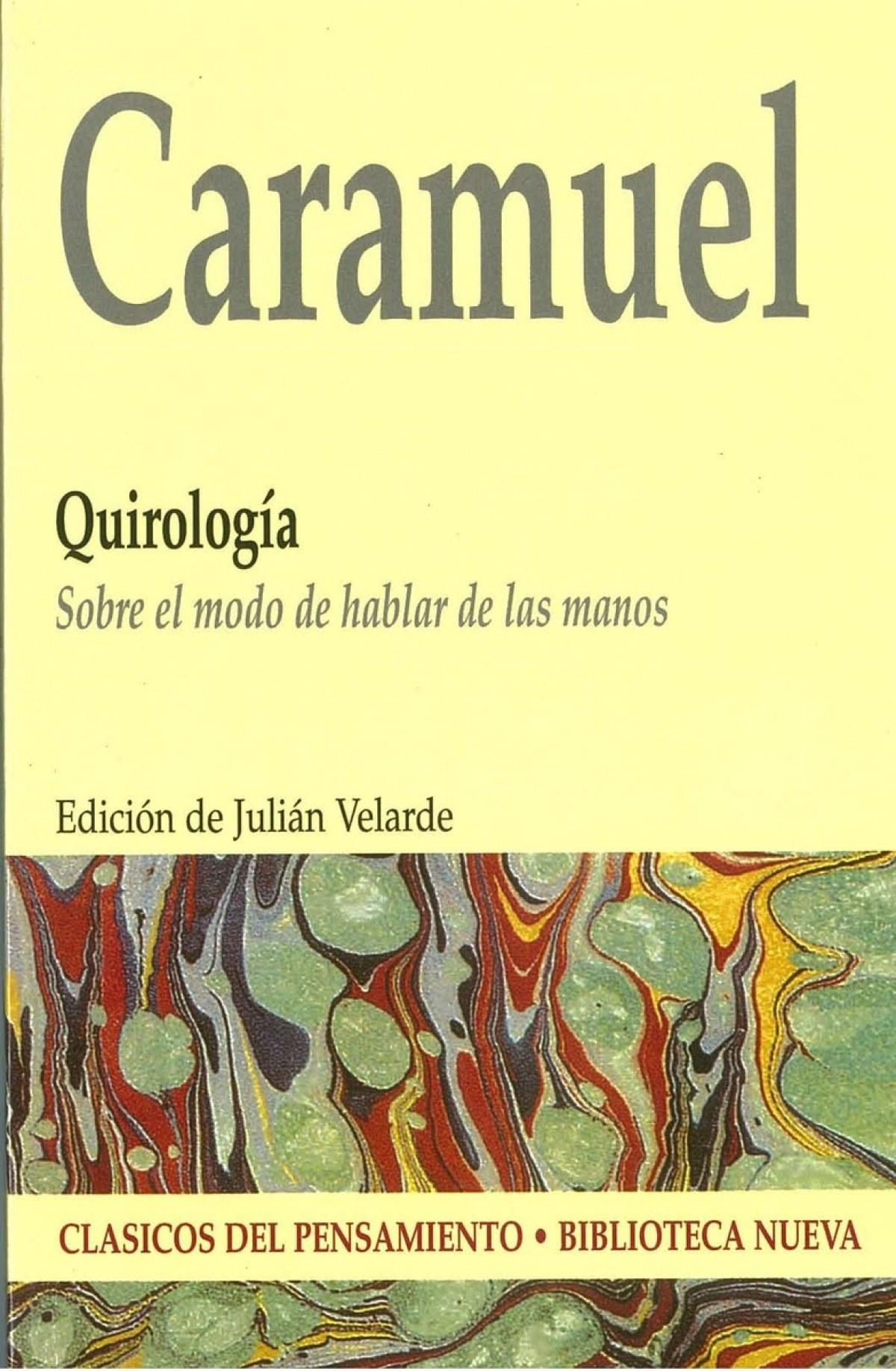 Quirologia - Caramuel De Lobkowitz, Juan