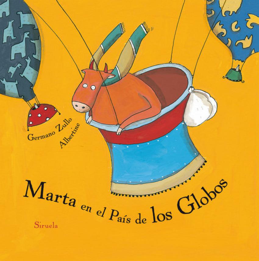 Marta en el país de los globos - Zullo, Germano