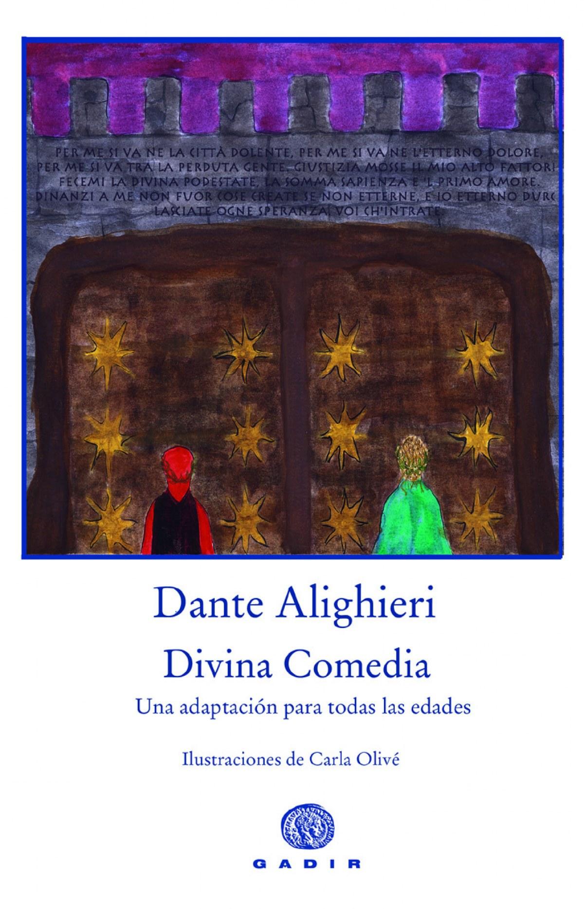 DIVINA COMEDIA Una adaptación para todas las edades - Alighieri, Dante Martínez, Clara (adap)