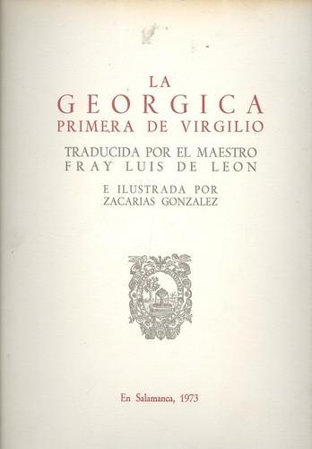 La georgica primera de virgilio - Fray Luis De Leon