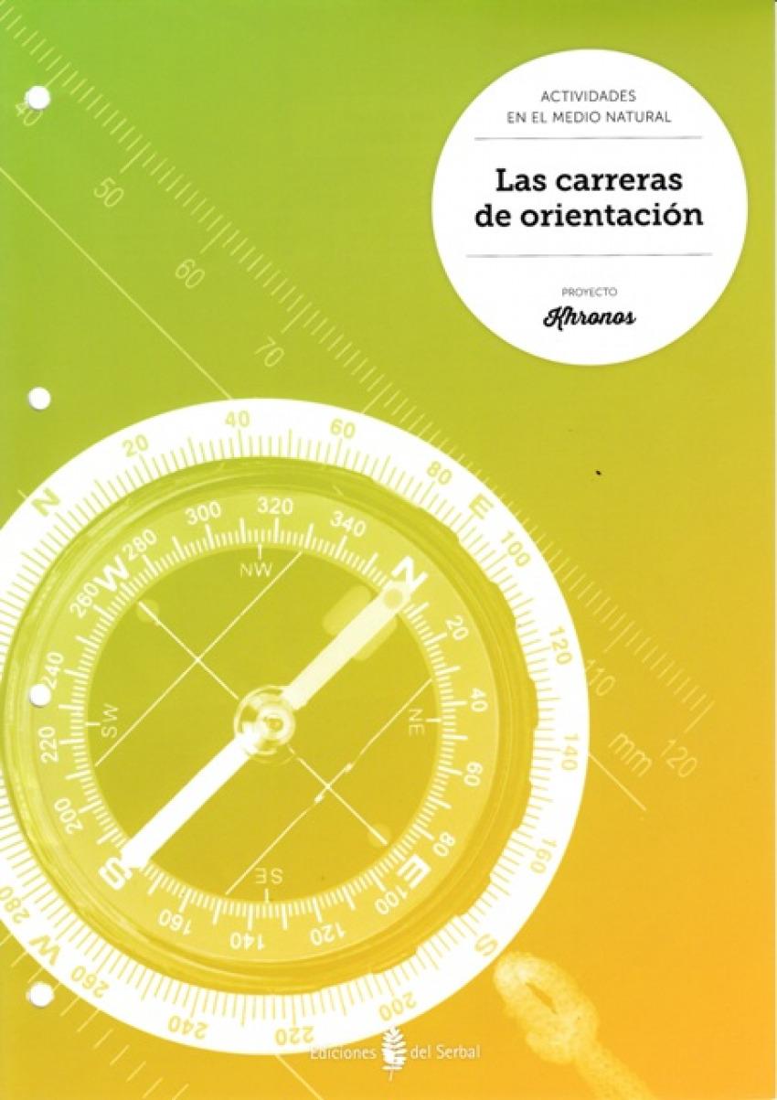 Carreras orientación.Cuaderno Ed.Física ESO Khronos - Aa.Vv.