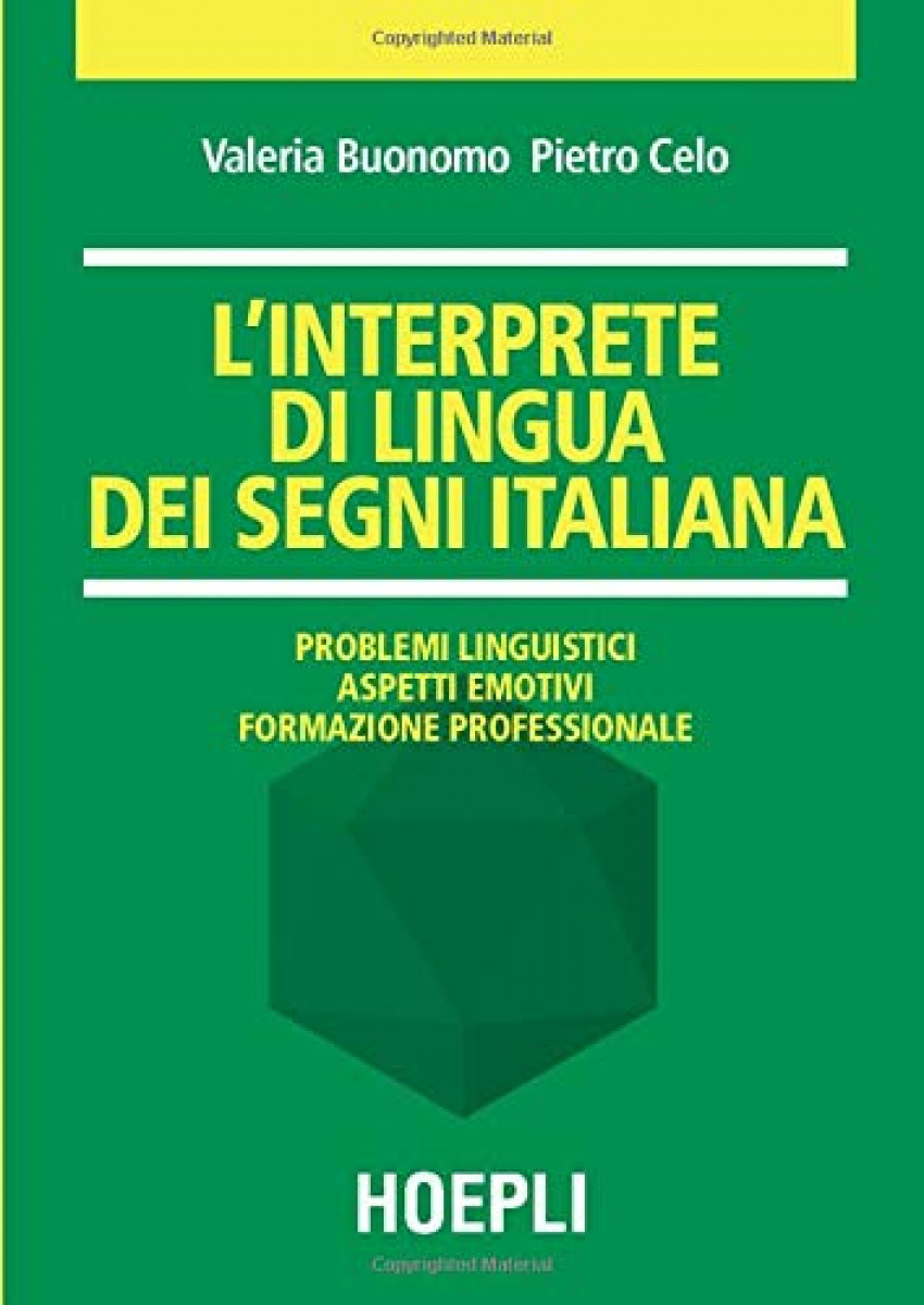 L'interprete di lingua dei segni italiana - Valeria, Buonomo