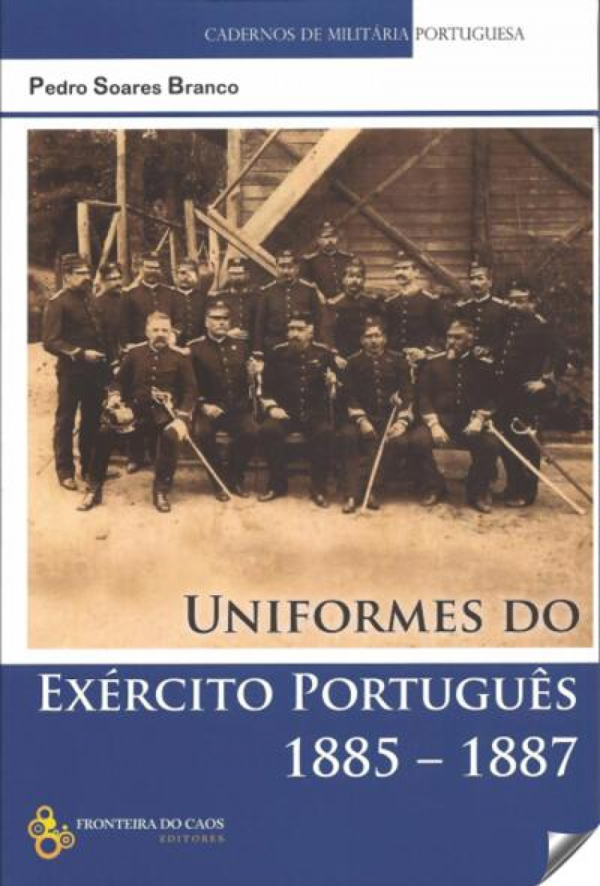 Uniformes do Exército Portugues 1885-1887