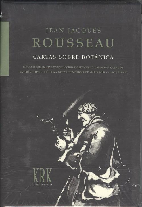Cartas sobre botÁnica de Rousseau, Jean Jacques: Nuevo (2007 ...