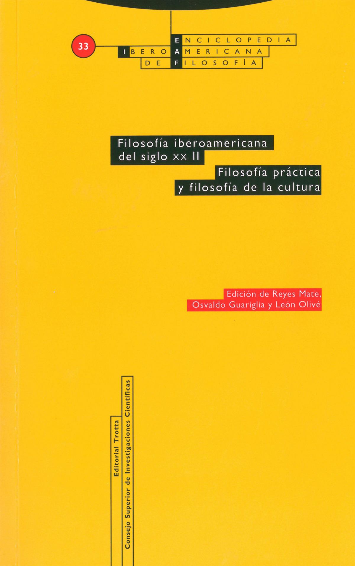 Filosofía iberoamericana del siglo xx. vol. ii. filosofía pr