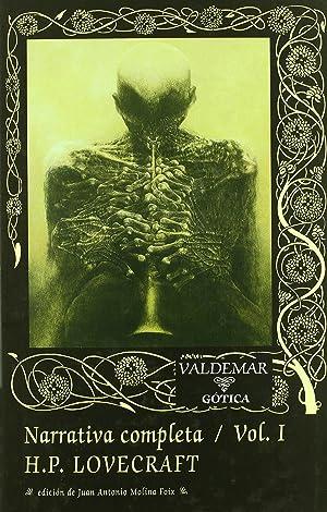 Narrativa completa (Vol. I): Lovecraft, Howard Phillips