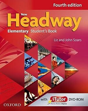11).new headway elementary (4a.ed) (st+dvd-rom): Soars, John