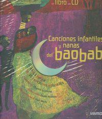 Canciones y nanas del baobab Contiene CD: Nouhen, Elodie