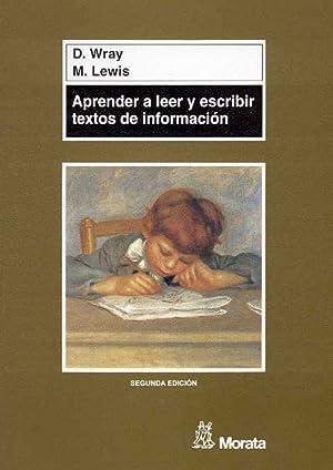 Aprender a leer y escribir textos de: Wray, D./Lewis, M.