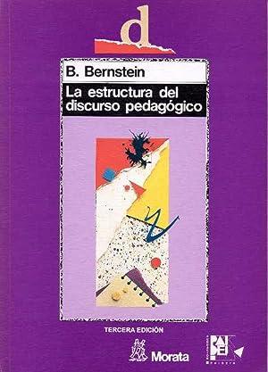 La estructura del discurso pedagogico: Bernstein, B.