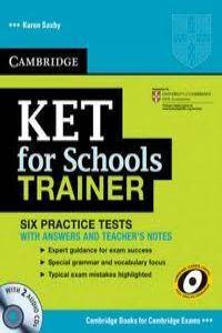 Cambridge ket schools trainer (st+key+cd): Karen Saxby