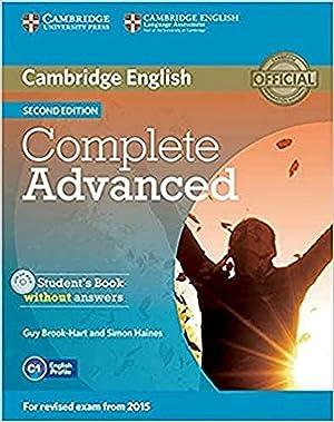 15).complete advanced.(st-key+cd).2ªed.: Vv.Aa.