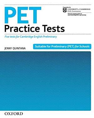 Pet practice tests.without answers (-key): Quintana, Jenny