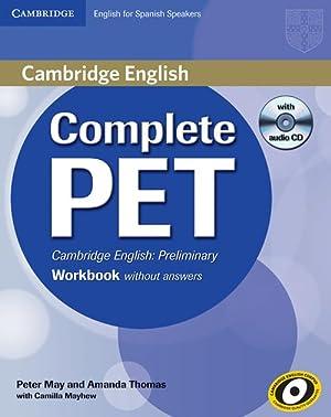 11).complete pet (wb+cd) spanish speakers: Thomas, Amanda/May, Peter