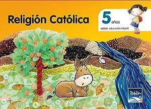 10).tobih.religion 5 aÑos.infantil: Edebé, Obra Colectiva
