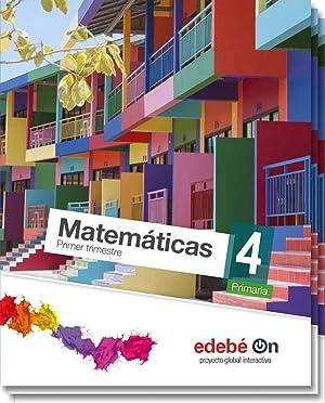 15).matematicas 4º.primaria.(talentia) *trimestral*: Aa.Vv.