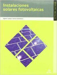 10).(g.m).instalaciones solares fotovoltaicas: Santamaría Herranz, Germán/Castejón Oliva, Agustín