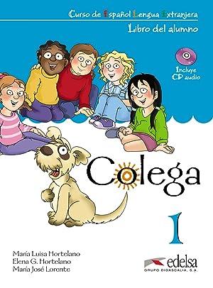 09).colega 1.(pack.libro+cuad+cd)/espaÑol extranjeros: Aa.Vv.